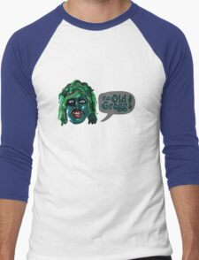 I'm Old Gregg! - The Mighty Boosh Characters Men's Baseball ¾ T-Shirt