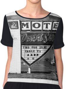 Route 66 - Desert Skies Motel Chiffon Top