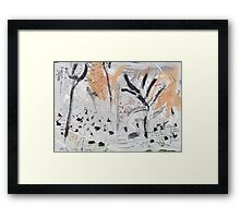 By the Bank of the Millstream Framed Print