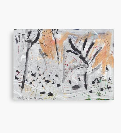 By the Bank of the Millstream Canvas Print