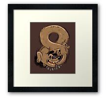 Chase Your Tail Forever Framed Print