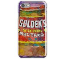 Gulden's Spicy Brown Mustard iPhone Case/Skin
