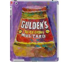 Gulden's Spicy Brown Mustard iPad Case/Skin