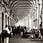 Arcades of Parma, Italy by prante