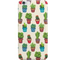 Cactus Pot Plant Garden iPhone Case/Skin