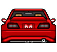 Pixel Cars - Toyota Chaser Photographic Print
