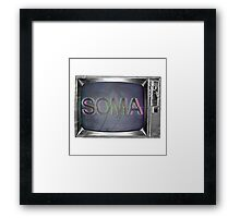 A Medicated New World Framed Print