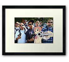 Misato Gon SHOOT Framed Print