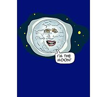 The mighty Boosh - I'm the moon Photographic Print