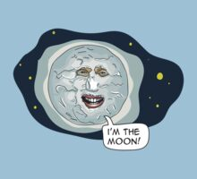 The mighty Boosh - I'm the moon Kids Clothes