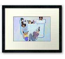Voltron Castle Framed Print