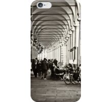 Arcades of Parma, Italy iPhone Case/Skin