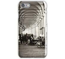 Arcades of Parma, Italy iPhone Case/Skin