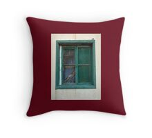 The square window Throw Pillow