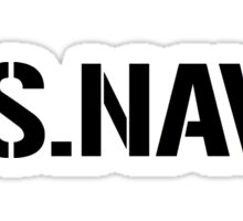 United States Navy, Full Size Version Sticker