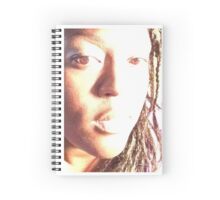 Looking away from the light Spiral Notebook