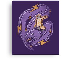 Electric Rodeo Canvas Print