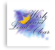Yato Loud and Clear Canvas Print
