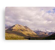 Chugach State Park Autumn  Canvas Print