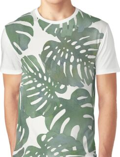 Tropical Leave pattern 1` Graphic T-Shirt