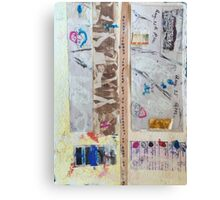 Field Journals of Jebediah Collage 2 Canvas Print