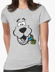 SCOOBY DOO FACE Womens Fitted T-Shirt
