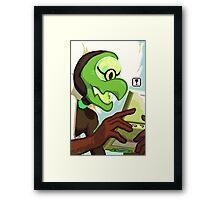 Pokegems - Centipeetle Framed Print