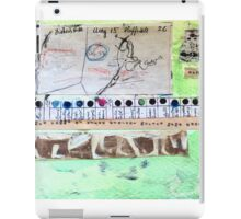 Field Journals of Jebediah Collage 3 iPad Case/Skin