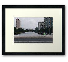 vctn 07 Framed Print