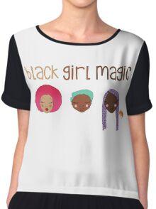 Black Girl Magic Chiffon Top