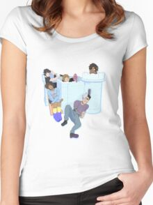 Voltron Castle Women's Fitted Scoop T-Shirt