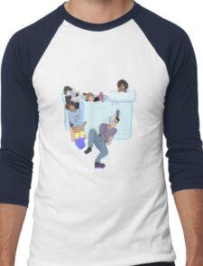 Voltron Castle Men's Baseball ¾ T-Shirt