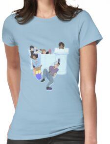 Voltron Castle Womens Fitted T-Shirt