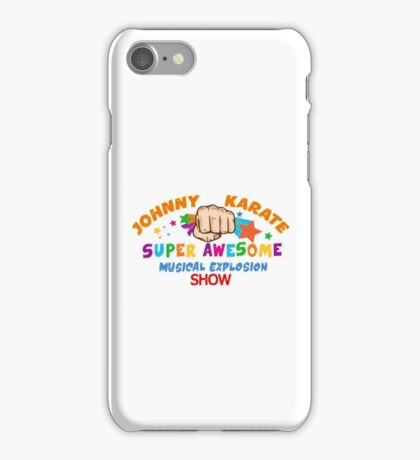 Karate Super Awesome show iPhone Case/Skin