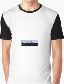 Mountains Negative Graphic T-Shirt