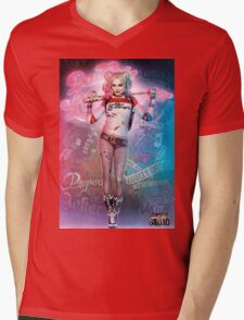 Harley Quinn  Mens V-Neck T-Shirt