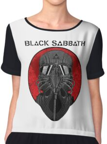 BLACK SABBATH Chiffon Top