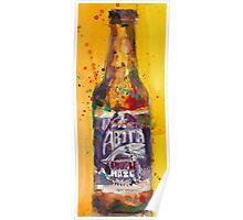 Abita Purple Haze by Abita Brewing Co Poster