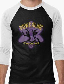 Vintage Powerline Concert Logo - A Goofy Movie Men's Baseball ¾ T-Shirt