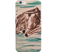 Sleepy Bulldog  iPhone Case/Skin