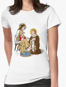ST JOHN OF GOD  Womens Fitted T-Shirt