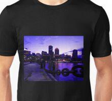 Boston Waterfront at Twilight Unisex T-Shirt