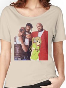 All Eyez on Mugi Women's Relaxed Fit T-Shirt