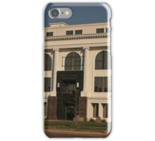 Barton County Courthouse, Great Bend, Kansas iPhone Case/Skin