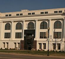 Barton County Courthouse, Great Bend, Kansas by oakleydo