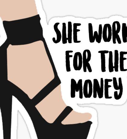 Beyonce Lemonade - She Works For The Money Sticker