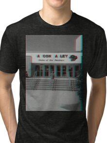 A Con A Ley Broken Sign Tri-blend T-Shirt