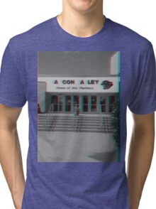 A Con A Ley Broken Sign Tri-blend T-Shirt