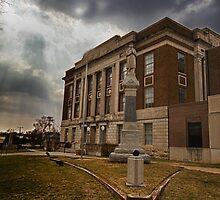 Bourbon County, Kansas Courthouse by oakleydo