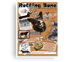 Rotting Bone Magazine Cover Canvas Print